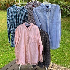 TOMMY HILFIGER XXL Men's L/S Dress Shirt LOT 5